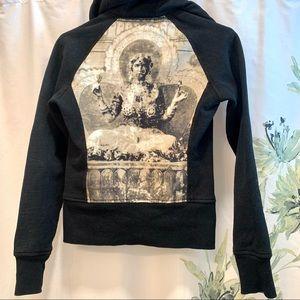 Lululemon Athletica Hooded Zippered Jacket Size 2